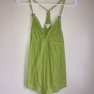 Vintage Abercrombie & Fitch Green Tank Top